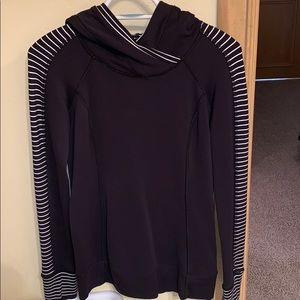 black and white lululemon pullover